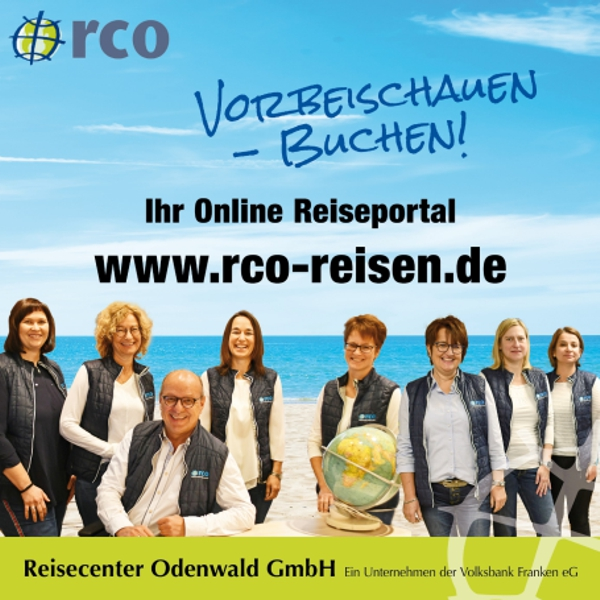 Das Team rco Reisen Walldürn - Hauptstraße 4