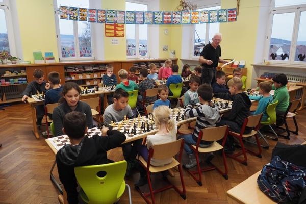 1. Vorrundenturnier SchulSchachChallenge in Götzingen