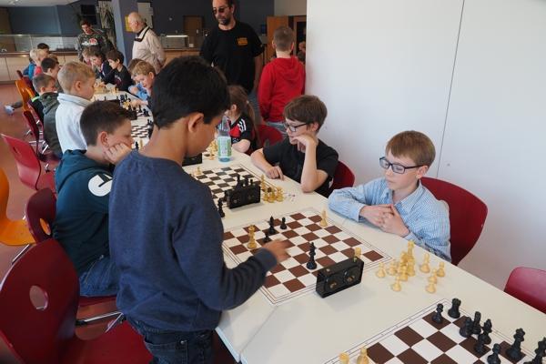 5. Vorrundenturnier SchulSchachChallenge in Hardheim