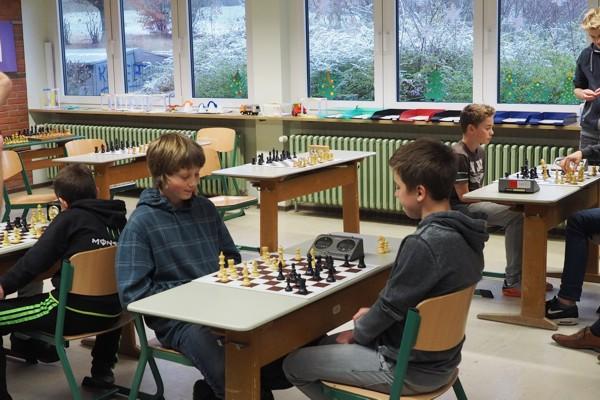 1. Vorrundenturnier SchulSchachChallenge in Hainstadt