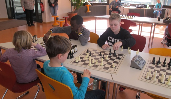 4. Vorrundenturnier SchulSchachChallenge in Hardheim