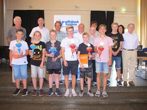 Finale SchulSchachChallenge im Burghardt-Gymnasium Buchen
