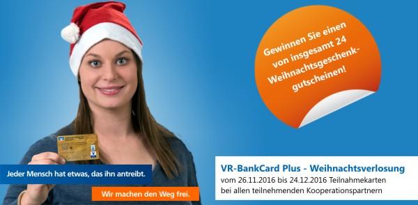 Vr Bankcard Plus Weihnachtsverlosung 2016 Volksbank