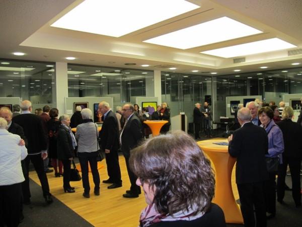 Ausstellungseröffnung Bertold Bier