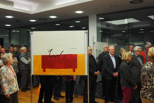 Ausstellungseröffnung Gabriele Strittmatter