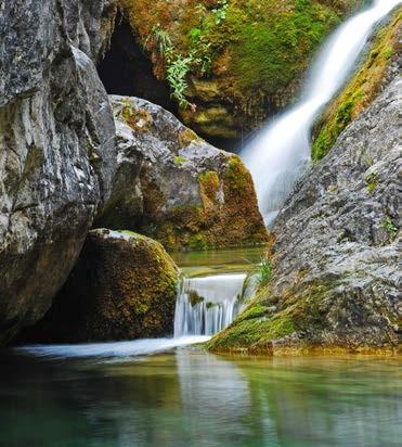Reizvolle Impressionen im Nationalpark Olymp