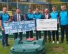 Spendenübergabe an den TSV Frankonia Höpfingen