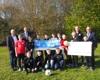 Spendenübergabe an FC Viktoria Hettingen