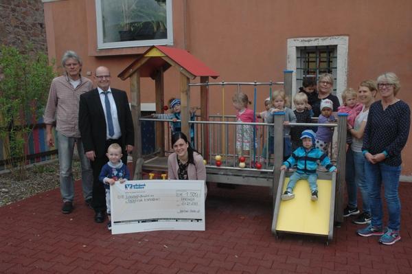 Spendenübergabe an den Gemeindekindergarten Hardheim